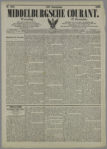 Middelburgsche Courant 1893-12-27