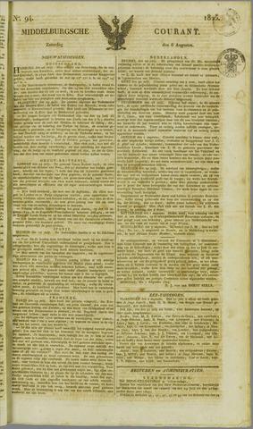 Middelburgsche Courant 1825-08-06
