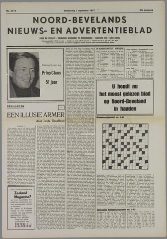 Noord-Bevelands Nieuws- en advertentieblad 1977-09-01