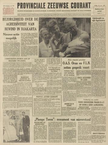Provinciale Zeeuwse Courant 1962-06-22