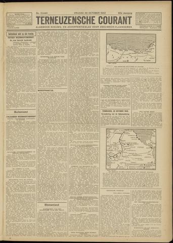 Ter Neuzensche Courant. Algemeen Nieuws- en Advertentieblad voor Zeeuwsch-Vlaanderen / Neuzensche Courant ... (idem) / (Algemeen) nieuws en advertentieblad voor Zeeuwsch-Vlaanderen 1942-10-30