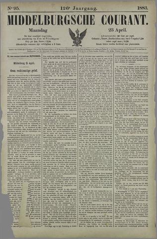Middelburgsche Courant 1883-04-23