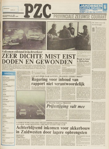 Provinciale Zeeuwse Courant 1978-11-11