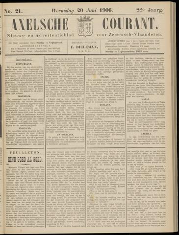 Axelsche Courant 1906-06-20