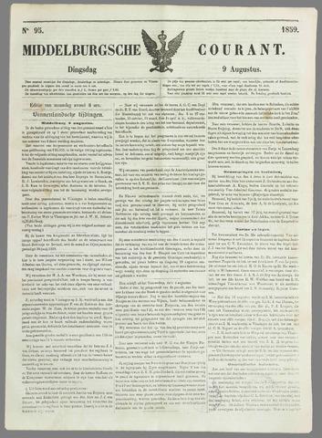 Middelburgsche Courant 1859-08-09