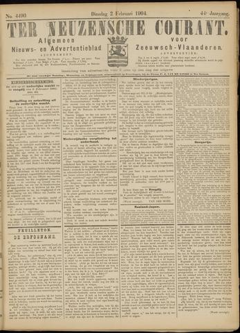 Ter Neuzensche Courant. Algemeen Nieuws- en Advertentieblad voor Zeeuwsch-Vlaanderen / Neuzensche Courant ... (idem) / (Algemeen) nieuws en advertentieblad voor Zeeuwsch-Vlaanderen 1904-02-02