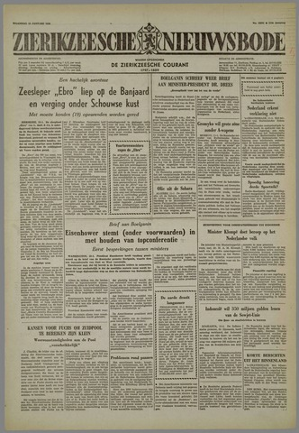 Zierikzeesche Nieuwsbode 1958-01-13