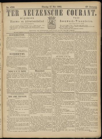 Ter Neuzensche Courant. Algemeen Nieuws- en Advertentieblad voor Zeeuwsch-Vlaanderen / Neuzensche Courant ... (idem) / (Algemeen) nieuws en advertentieblad voor Zeeuwsch-Vlaanderen 1902-05-27