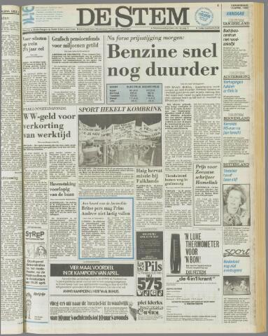 de Stem 1982-04-15