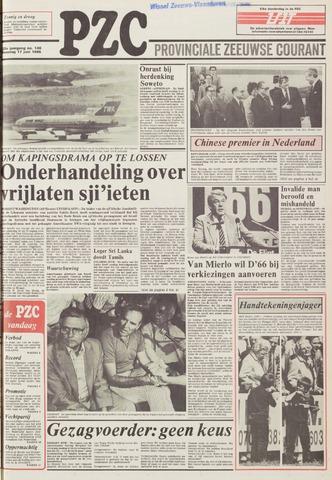 Provinciale Zeeuwse Courant 1985-06-17