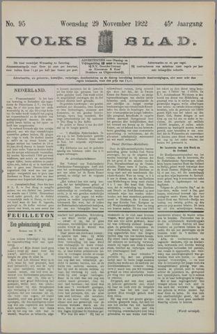 Volksblad 1922-11-29