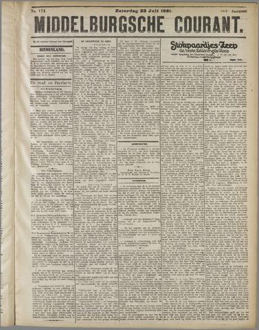 Middelburgsche Courant 1921-07-23