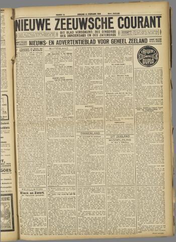 Nieuwe Zeeuwsche Courant 1924-02-12