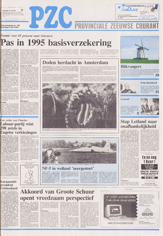 Provinciale Zeeuwse Courant 1990-05-05