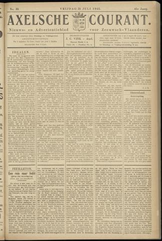 Axelsche Courant 1925-07-31