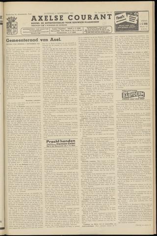 Axelsche Courant 1958-09-06