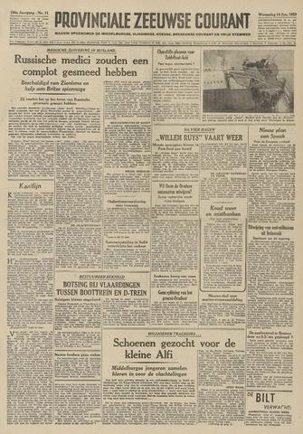 Provinciale Zeeuwse Courant 1953-01-14
