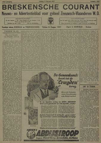 Breskensche Courant 1937-02-05