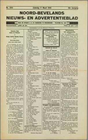 Noord-Bevelands Nieuws- en advertentieblad 1945-03-17