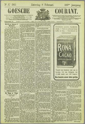 Goessche Courant 1913-02-08