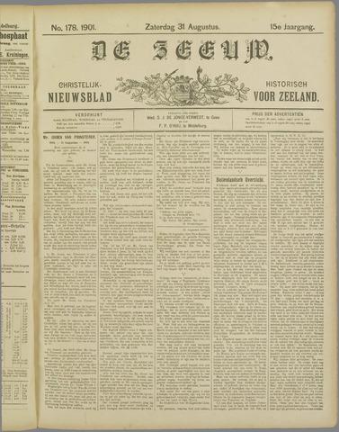 De Zeeuw. Christelijk-historisch nieuwsblad voor Zeeland 1901-08-31