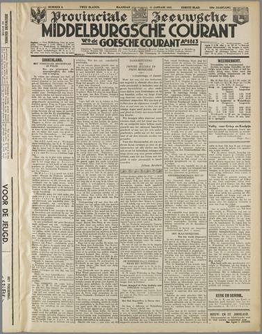 Middelburgsche Courant 1937-01-11