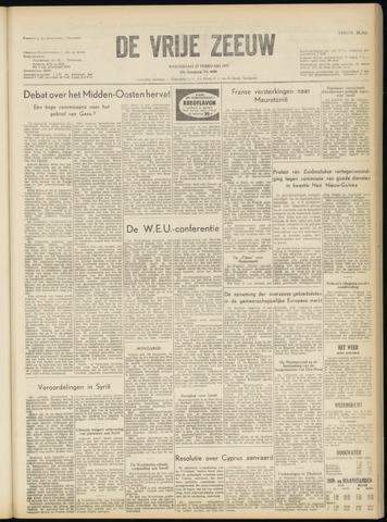 de Vrije Zeeuw 1957-02-27