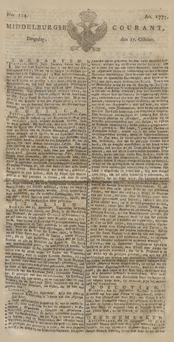 Middelburgsche Courant 1775-10-17