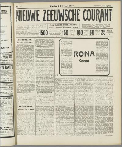 Nieuwe Zeeuwsche Courant 1913-02-04
