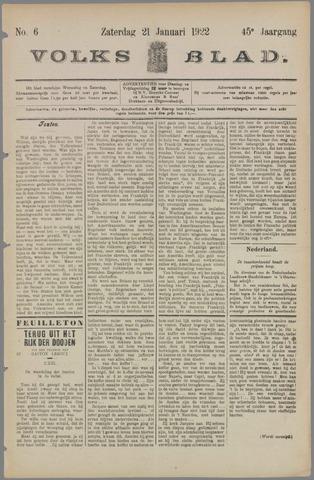 Volksblad 1922-01-21