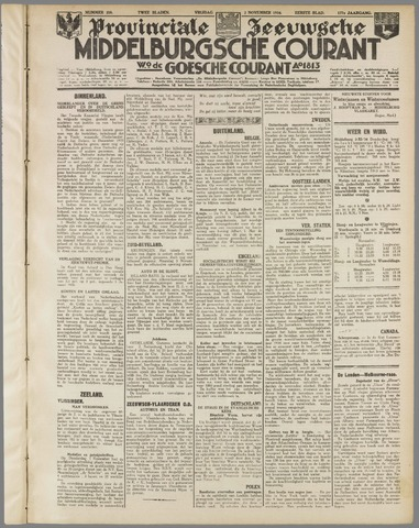 Middelburgsche Courant 1934-11-02