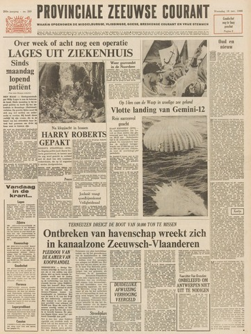 Provinciale Zeeuwse Courant 1966-11-16