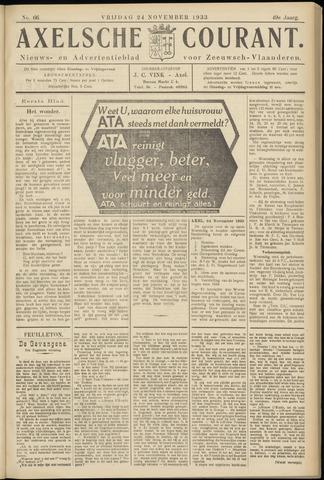 Axelsche Courant 1933-11-24