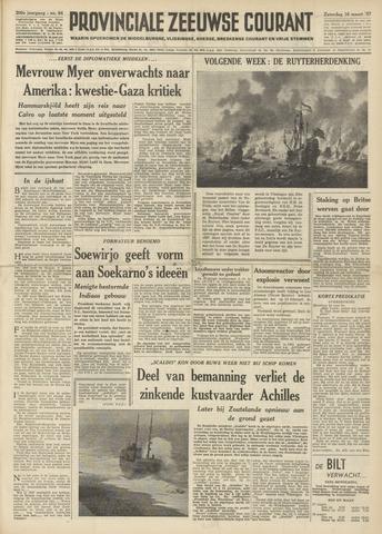 Provinciale Zeeuwse Courant 1957-03-16