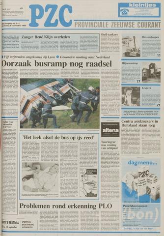 Provinciale Zeeuwse Courant 1993-09-09