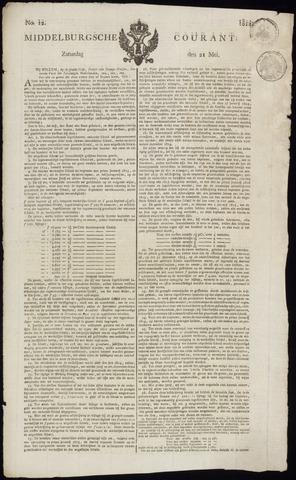 Middelburgsche Courant 1814-05-21