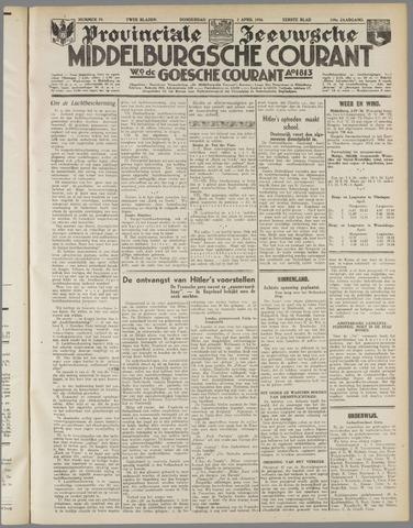 Middelburgsche Courant 1936-04-02