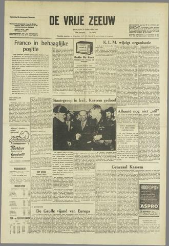 de Vrije Zeeuw 1963-02-09