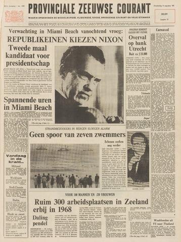 Provinciale Zeeuwse Courant 1968-08-08