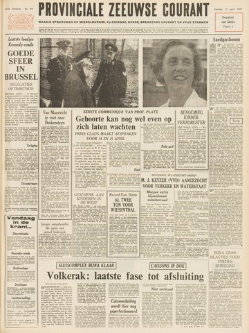 Provinciale Zeeuwse Courant 1967-04-11