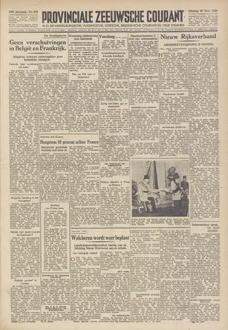 Provinciale Zeeuwse Courant 1946-11-26