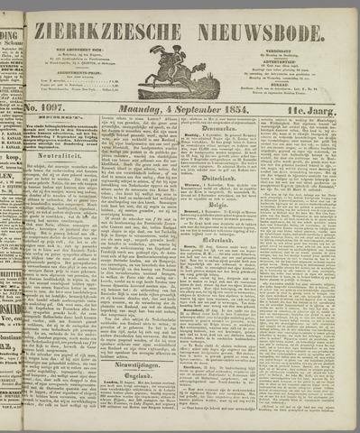 Zierikzeesche Nieuwsbode 1854-09-04