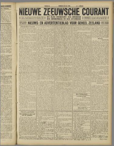 Nieuwe Zeeuwsche Courant 1925-07-28