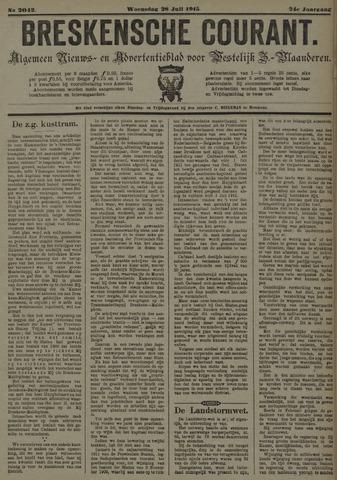 Breskensche Courant 1915-07-28
