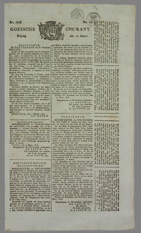 Goessche Courant 1826-03-10