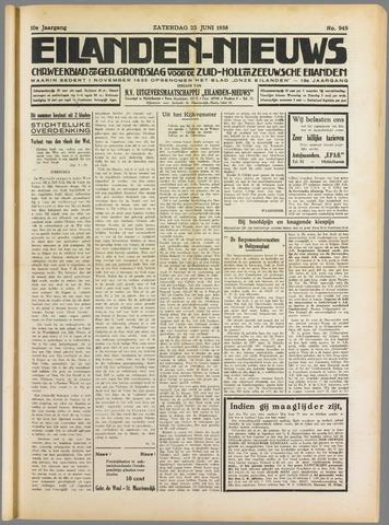 Eilanden-nieuws. Christelijk streekblad op gereformeerde grondslag 1938-06-25