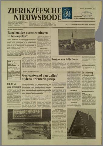 Zierikzeesche Nieuwsbode 1974-09-03