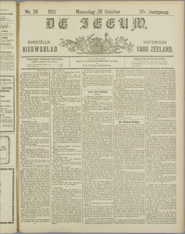 De Zeeuw. Christelijk-historisch nieuwsblad voor Zeeland 1912-10-28