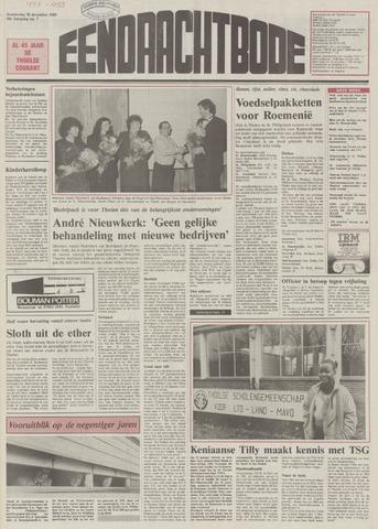 Eendrachtbode (1945-heden)/Mededeelingenblad voor het eiland Tholen (1944/45) 1989-12-28