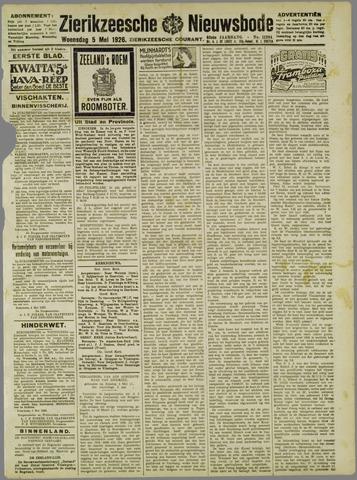 Zierikzeesche Nieuwsbode 1926-05-05